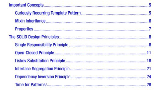 Design patterns in modern c book coding tidbit object pattern curiously recurring template pattern and solid design principles in addition to the classic design patterns in the gof book maxwellsz