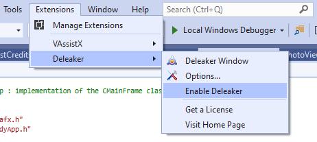 enable_deleaker